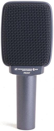 Sennheiser e 609 evolution Series Supercardioid Dynamic Microphone in Silver E609-SILVER