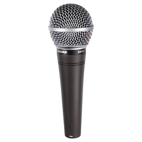Shure SM48LC Dynamic Cardioid Microphone SM48LC