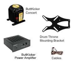 ButtKicker Drum Throne Monitoring Package DRUM-THRONE-PKG