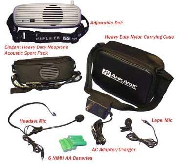 AmpliVox S207 BeltBlaster PRO Waistband Amplifier S207