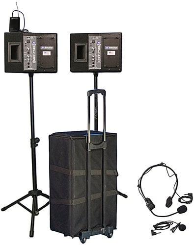 AmpliVox SW227 Wireless Presenter Kit with Wireless Speakers SW227