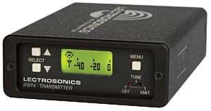 Lectrosonics IFBT4 IFB Transmitter, Digital Hybrid, Frequency-Agile, Compact IFBT4
