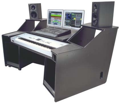 Omnirax FORTE Equipment Desk FORTE