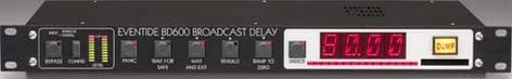 Eventide BD600E Broadcast Delay with Extended Remote BD600E