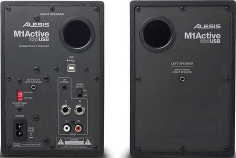 """Alesis M1Active 320 USB Pair of 3"""" Active Monitors with USB M1-ACTIVE-320-USB"""
