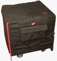 Gator Cases G-SUB-2225-24-BAG G-SUB-2224-25-BAG Rolling Sub Woofer Bag (with Casters) G-SUB-2225-24-BAG