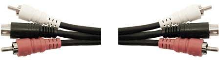 Hosa VSR303 Triplex A/V Cable, 9.9ft VSR303