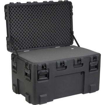 """SKB Cases 3R4024-24B-L 40""""x24""""x24"""" Layered Foam Waterproof Case 3R4024-24B-L"""