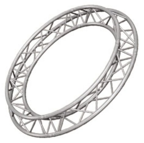 Global Truss SQ-C3-90 9.84 ft. Square Truss Circle (4 x 90 Degree Arcs) SQ-C390