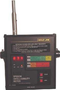 Goldline DSP2B Speech Intelligibility Meter DSP2B