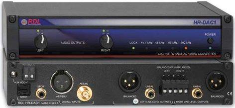 Radio Design Labs HR-DAC1 Digital/Analog Converter HRDAC1