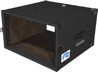 Grundorf ML-06 6 RU Mighty Light™ Carpet Rack Case in Black ML-06