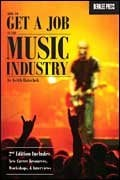 Hal Leonard 50449551  How to Get A Job in the Music Industry 50449551