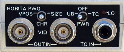 Horita PWG Mini Portable Time Code Window Inserter PWG