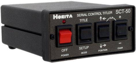 Horita SCT-50 Character Generator SCT50