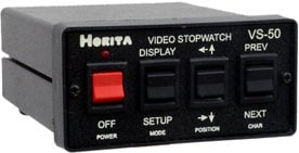 Horita VS-50 Video Stopwatch with GPI Output VS-50