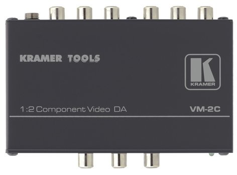 Kramer VM-2C 1:2 Component Video Distribution Amplifier VM-2C