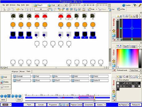 Chroma-Q JAVISTAC128 128 Channel Vista Software Pack with USB Dongle JAVISTAC128