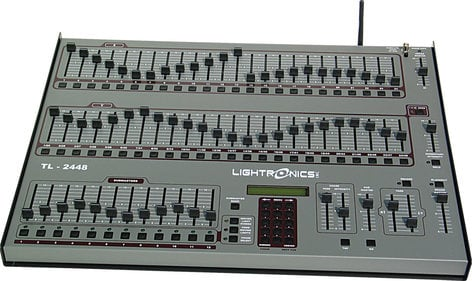 Lightronics Inc. TL2448 WS-TX TL Series Lighting Console with Built-In Wireless DMX Transmitter TL-2448-WS-TX