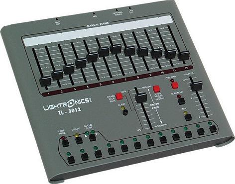 Lightronics Inc. TL3012 12 Channels x 24 Scenes Lighting Control Console TL-3012
