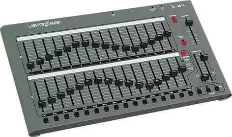 Lightronics Inc. TL-4016 32 Channel / 16 Scene Lighting Console TL-4016