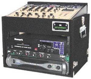 Grundorf TLR6EXDR-BLACK Top Load Rack, Extra Deep (12-Space Slanted/6-Space Bottom/Recessed Hardware) TLR6EXDR-BLACK