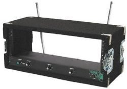 Grundorf Corp WR06R 6-Space Wireless Rack with Recessed Hardware WR06R