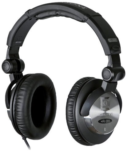 Ultrasone HFI 580 Studio Headphones, Black HFI-580