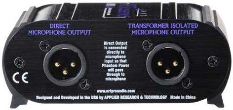 ART PROSPLIT Mic Splitter, Transformer Isolated PROSPLIT
