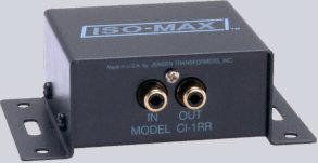 Jensen Transformers CI-1RR Single Channel Audio Input Isolator CI-1RR
