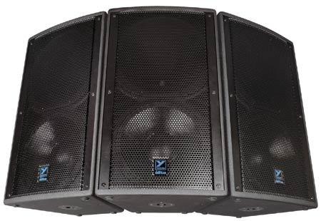 "Yorkville U15B 15"" Speaker, 800 Watt, 4 Ohms, Black Ultrathane Finish U15B"