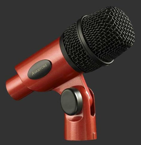 Avantone ATOM Tom Microphone with Pro-Klamp & Case ATOM