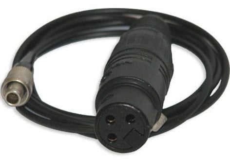 Sennheiser AC50-1 3-p Lemo To XLR Adapter Cable. 3.3ft AC50-1