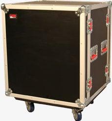 Gator Cases G-TOUR SHK-12-CAST ATA-Style 12-Space Shock Rack (with Casters) G-TOUR-SHK12-CAST