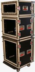 Gator Cases G-TOUR SHK-8-CAST ATA-Style 8-Space Shock Rack (with Casters) G-TOUR-SHK8-CAST