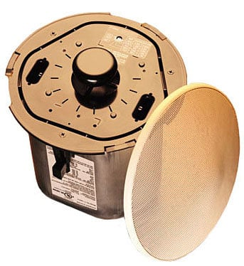 "TOA F122CU2 Ceiling Speaker, 5"", 30W, priced as each - sold only in multiples of 2 F122CU2"