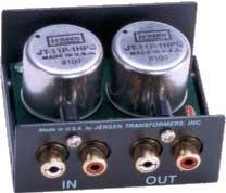 Jensen Transformers CI-2RR Stereo (2-Channel) Audio Input Isolator CI-2RR