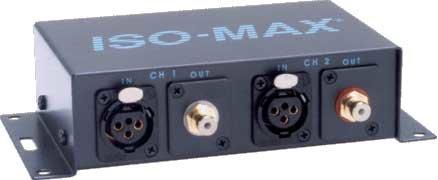 "Jensen Transformers PC-2XR Stereo ""Pro"" to ""Consumer"" Converter/Isolator PC-2XR"