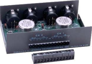 Jensen Transformers PI-2XX Stereo Audio Input Isolator PI-2XX