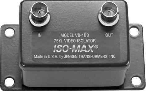 Jensen Transformers VB1-BB Baseband-Composite Video Isolation Transformer (with BNC Connectors) VB1-BB