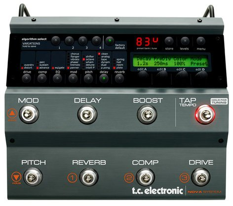 TC Electronic Nova System Guitar Multi-Effects Processor NOVA-SYSTEM
