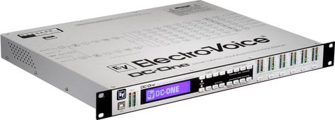 Electro-Voice DC-ONE 2 In x 6 Out Digital Speaker Processor DC-ONE