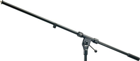 "K&M Stands 211-BLACK Boom Arm, 33"", Black 211-BLACK"