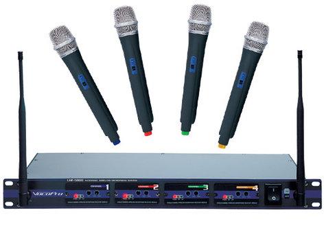 VocoPro UHF-5800 Wireless UHF Handheld Mic System UHF-5800