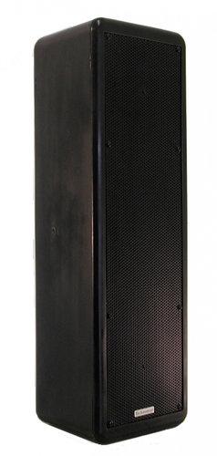 Technomad Paris 616 250W 2-Way Full-Range Speaker in Black PARIS-616