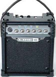 Line 6 Micro Spider Battery Powered Portable 6W Guitar Amplifier MICRO-SPIDER