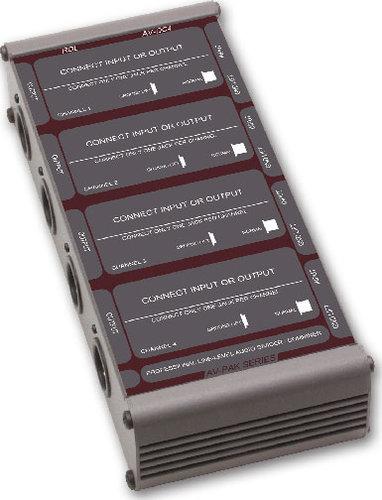 Radio Design Labs AV-DC4 Divider/Combiner 4 Channel XLR AV-DC4