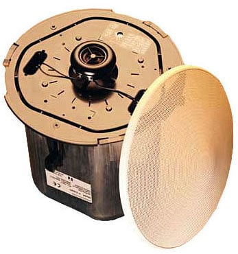 """TOA F2352C2 5"""" Ceiling Speaker, Back Can, Trans, TB, priced each but sold only in pairs F2352CU2"""