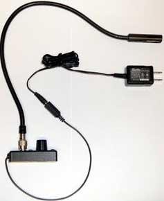 """Littlite L8/18-HI 18"""" High-Intensity Gooseneck (with TNC Connector) L8/18-HI"""