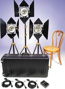 Lowel Light Mfg D2-93Z DP 3 Light Kit D2-93Z